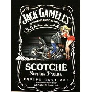 JOE BAR TEAM T-shirts Jack gammell\'s Scotché sur les freins