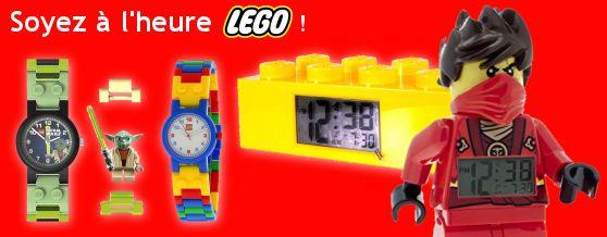 Montres et reveils lego