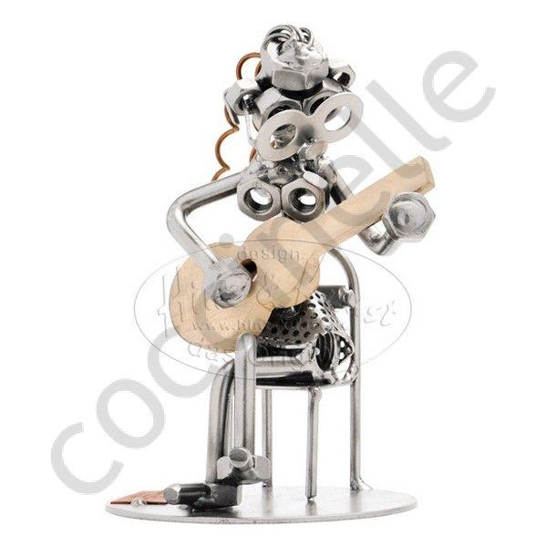 figurine musicien cadeau ou r compense pour joueuse de. Black Bedroom Furniture Sets. Home Design Ideas