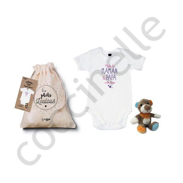 f5ec81e76 Boutique Coccinelle - Bébé BUBBLE GUM Body Made By Maman et Papa
