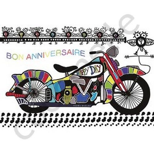 anniversaire moto humour