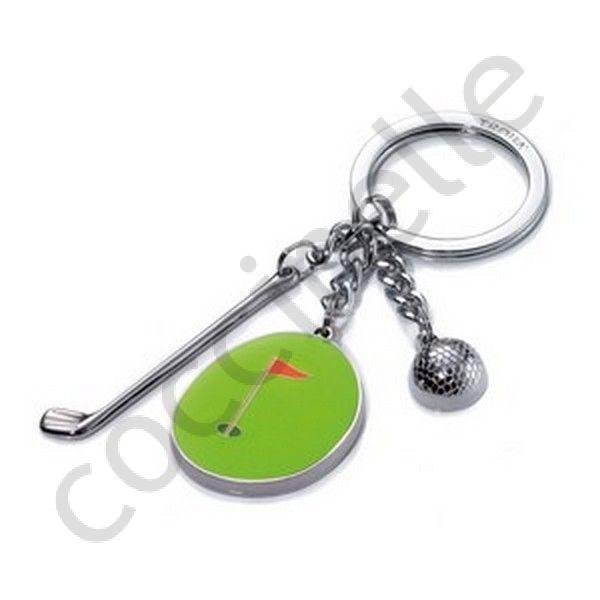 8efb695b5b87 Cadeau porte-clés TROIKA original à thème pour homme en métal GOLF